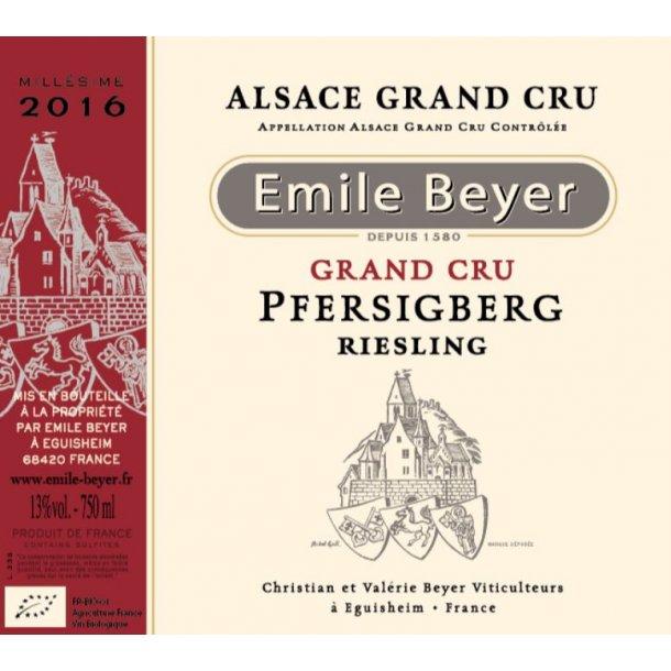 2016 Emile Beyer Riesling Grand-Cru Pfersigberg (HVID)