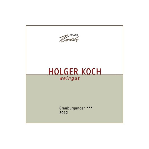 2012 Holger Koch Grauburgunder *** Selection (HVID)