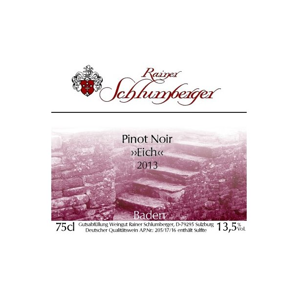 2013 Schlumberger Pinot Noir