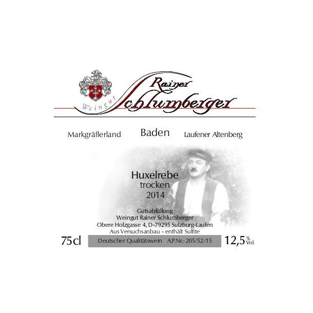2014* Schlumberger Huxelrebe Trocken (HVID)