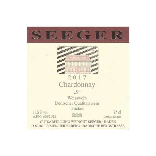 2017 Seeger Chardonnay
